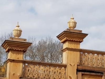 В Архитектурно – этнографическом музее «Тальцы» завершено  обустройство усадьбы Воинова